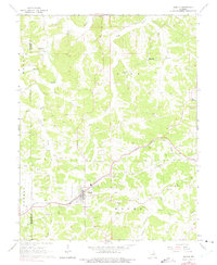 Download a high-resolution, GPS-compatible USGS topo map for Gerald, MO (1975 edition)