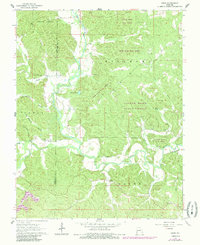 Download a high-resolution, GPS-compatible USGS topo map for Gipsy, MO (1985 edition)