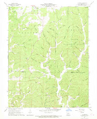 Download a high-resolution, GPS-compatible USGS topo map for Gladden, MO (1969 edition)