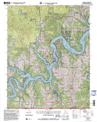 Download a high-resolution, GPS-compatible USGS topo map for Golden, MO (2002 edition)