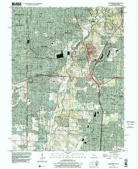 Download a high-resolution, GPS-compatible USGS topo map for Grandview, MO (2002 edition)