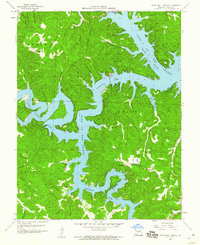 Download a high-resolution, GPS-compatible USGS topo map for Green Bay Terrace, MO (1960 edition)