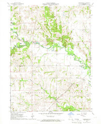Download a high-resolution, GPS-compatible USGS topo map for Greensburg, MO (1966 edition)