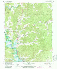 Download a high-resolution, GPS-compatible USGS topo map for Greenville, MO (1985 edition)