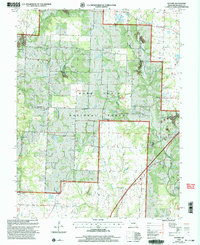 Download a high-resolution, GPS-compatible USGS topo map for Guthrie, MO (2003 edition)