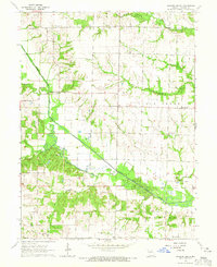 Download a high-resolution, GPS-compatible USGS topo map for Hagers Grove, MO (1965 edition)