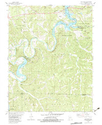 Download a high-resolution, GPS-compatible USGS topo map for Hahatonka, MO (1983 edition)