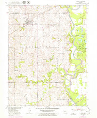 Download a high-resolution, GPS-compatible USGS topo map for Hale, MO (1979 edition)