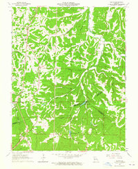 Download a high-resolution, GPS-compatible USGS topo map for Halifax, MO (1965 edition)