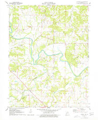 Download a high-resolution, GPS-compatible USGS topo map for Hannibal SE, MO (1976 edition)