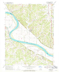 Download a high-resolution, GPS-compatible USGS topo map for Hartsburg, MO (1971 edition)