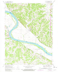 Download a high-resolution, GPS-compatible USGS topo map for Hartsburg, MO (1982 edition)