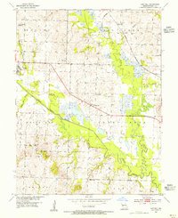 Download a high-resolution, GPS-compatible USGS topo map for Hartwell, MO (1955 edition)