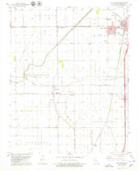 Download a high-resolution, GPS-compatible USGS topo map for Hayti Heights, MO (1979 edition)