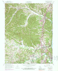 Download a high-resolution, GPS-compatible USGS topo map for Herculaneum, MO (1989 edition)