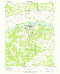 Download a high-resolution, GPS-compatible USGS topo map for Hermann, MO (1975 edition)