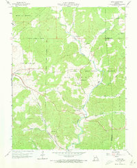 Download a high-resolution, GPS-compatible USGS topo map for Higdon, MO (1973 edition)