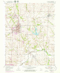 Download a high-resolution, GPS-compatible USGS topo map for Higginsville, MO (1979 edition)