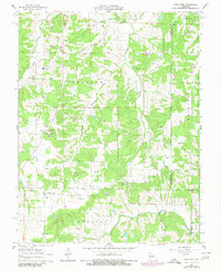 Download a high-resolution, GPS-compatible USGS topo map for High Gate, MO (1980 edition)