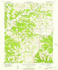 Download a high-resolution, GPS-compatible USGS topo map for Highlandville, MO (1957 edition)