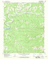 Download a high-resolution, GPS-compatible USGS topo map for Hilda, MO (1969 edition)