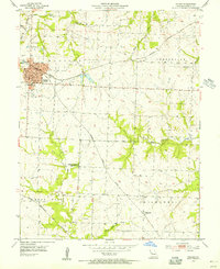 Download a high-resolution, GPS-compatible USGS topo map for Holden, MO (1955 edition)