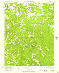 Download a high-resolution, GPS-compatible USGS topo map for Hollister, MO (1957 edition)
