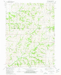 Download a high-resolution, GPS-compatible USGS topo map for Hopkins SW, MO (1980 edition)