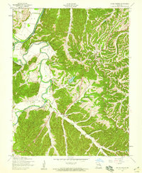 Download a high-resolution, GPS-compatible USGS topo map for House Springs, MO (1956 edition)
