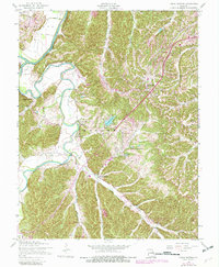 Download a high-resolution, GPS-compatible USGS topo map for House Springs, MO (1982 edition)