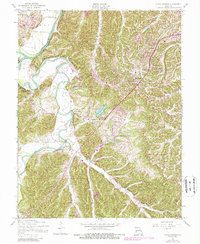 Download a high-resolution, GPS-compatible USGS topo map for House Springs, MO (1988 edition)