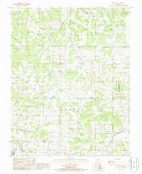 Download a high-resolution, GPS-compatible USGS topo map for Huggins, MO (1987 edition)