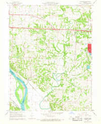 Download a high-resolution, GPS-compatible USGS topo map for Huntsdale, MO (1968 edition)