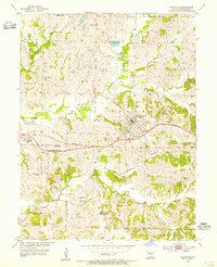 Download a high-resolution, GPS-compatible USGS topo map for Huntsville, MO (1955 edition)