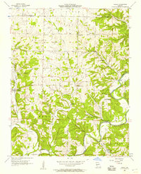 Download a high-resolution, GPS-compatible USGS topo map for Hurley, MO (1957 edition)