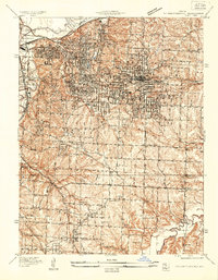 Download a high-resolution, GPS-compatible USGS topo map for Independence, MO (1934 edition)