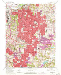 Download a high-resolution, GPS-compatible USGS topo map for Independence, MO (1972 edition)
