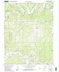 Download a high-resolution, GPS-compatible USGS topo map for Indian Springs, MO (1985 edition)