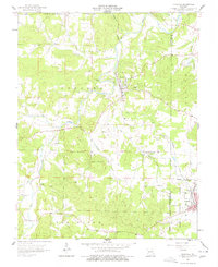 Download a high-resolution, GPS-compatible USGS topo map for Irondale, MO (1968 edition)