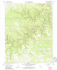 Download a high-resolution, GPS-compatible USGS topo map for Jam Up Cave, MO (1985 edition)