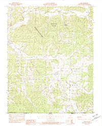 Download a high-resolution, GPS-compatible USGS topo map for Jane, MO (1982 edition)