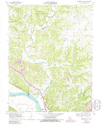 Download a high-resolution, GPS-compatible USGS topo map for Jefferson City NW, MO (1986 edition)