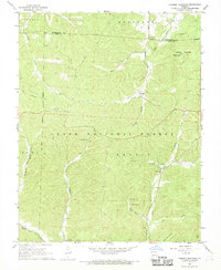 Download a high-resolution, GPS-compatible USGS topo map for Johnson Mountain, MO (1969 edition)