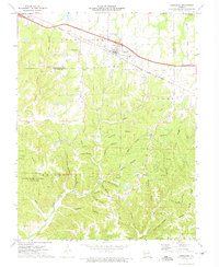 Download a high-resolution, GPS-compatible USGS topo map for Jonesburg, MO (1975 edition)
