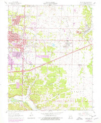 Download a high-resolution, GPS-compatible USGS topo map for Joplin East, MO (1979 edition)