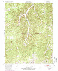 Download a high-resolution, GPS-compatible USGS topo map for Kaintuck Hollow, MO (1985 edition)
