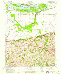 Download a high-resolution, GPS-compatible USGS topo map for Kampville, MO (1959 edition)