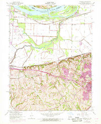 Download a high-resolution, GPS-compatible USGS topo map for Kampville, MO (1969 edition)