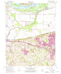 Download a high-resolution, GPS-compatible USGS topo map for Kampville, MO (1975 edition)