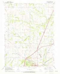 Download a high-resolution, GPS-compatible USGS topo map for Kearney SW, MO (1973 edition)